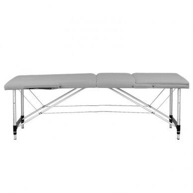 Sulankstomas 3 dalių masažo stalas KOMFORT 3, pilkos spalvos 4