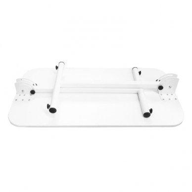 Sulankstomas manikiūro stalas, baltos sp. 5