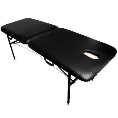 Sulankstomas masažo stalas COMFORT AT-001, juodas 2