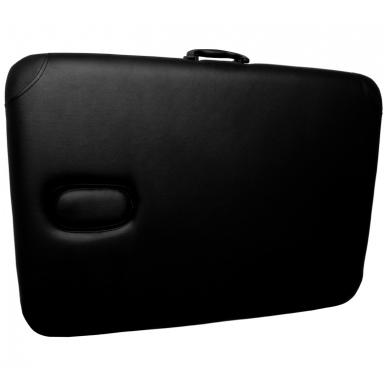 Sulankstomas masažo stalas COMFORT AT-001, juodas 3