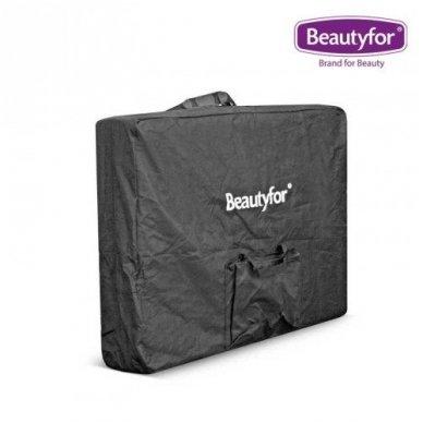 Sulankstomas masažo stalas su mediniu rėmu Beautyfor 3