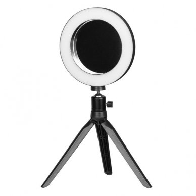 Lempa RING MINI 6 su veidrodžiu ir telefono laikikliu 2