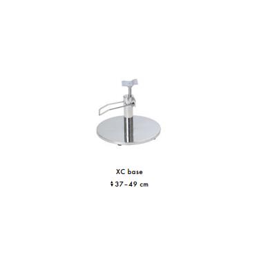 Prabangus kirpyklos krėslas GLAMOUR su kristalais (pasirenkama bazė) 4