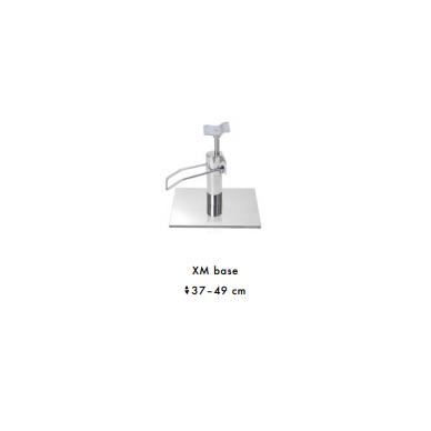 Prabangus kirpyklos krėslas SWAN su kristalais (pasirenkama bazė) 6