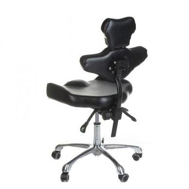Tatuiruočių meistro kėdutė BD-MIKA, juodos sp. 2