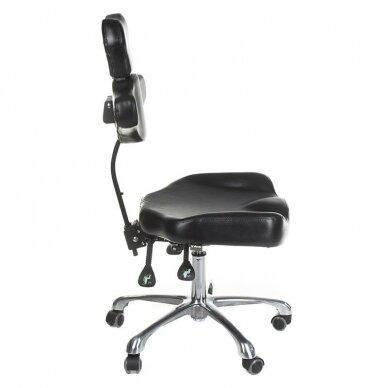 Tatuiruočių meistro kėdutė BD-MIKA, juodos sp. 3