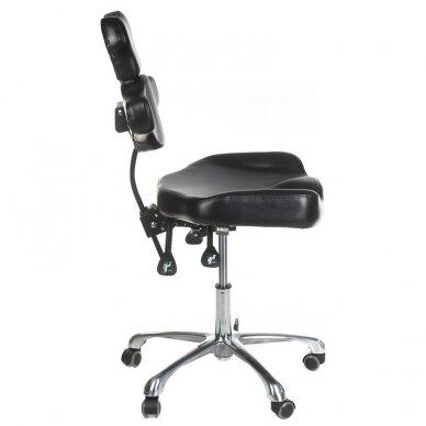 Tatuiruočių meistro kėdutė BD-MIKA, juodos sp. 4