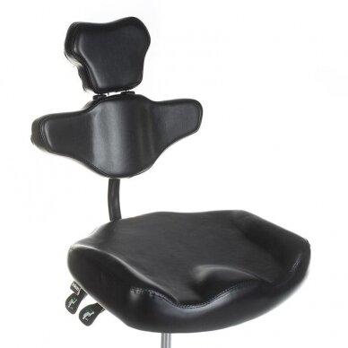 Tatuiruočių meistro kėdutė BD-MIKA, juodos sp. 5