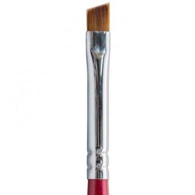 Teptukas kiniškai nagų dailei Osom Professional Art Brush, plokščias, 6 mm 2