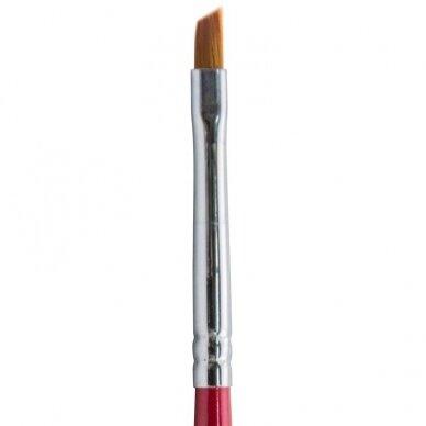 Teptukas nagų dailei Osom Professional Art Brush, plokščias, 4 mm 2