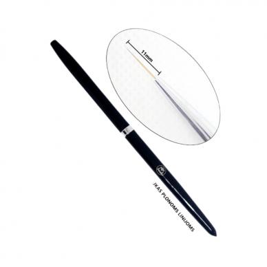 Teptukas plonoms linijoms Gel Brush Liner, 7mm