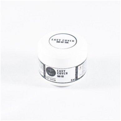 Tirštas (tiksotropinis) stytybinis maskuojantis gelis EASY COVER, 15ml