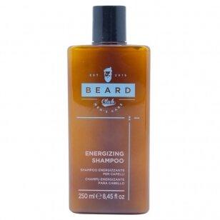 Tonizuojantis - energizuojantis šampūnas KAY PRO BEARD CLUB, 250 ml