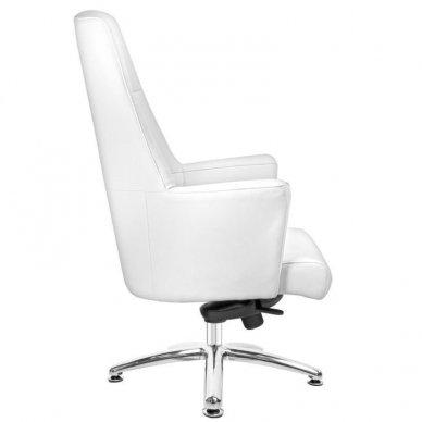 Universali meistro kėdė 167, baltos sp. 4