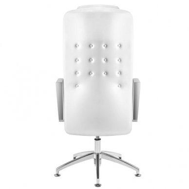 Universali meistro kėdė 199, baltos sp. 5