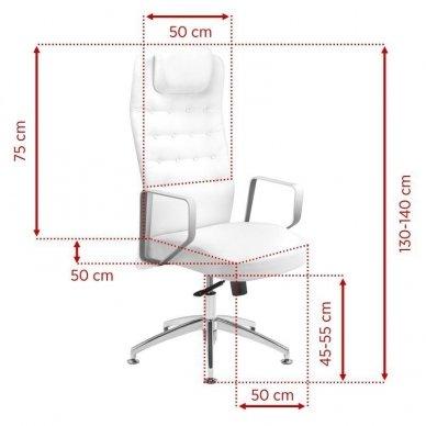 Universali meistro kėdė 199, baltos sp. 2