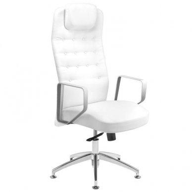 Universali meistro kėdė 199, baltos sp.