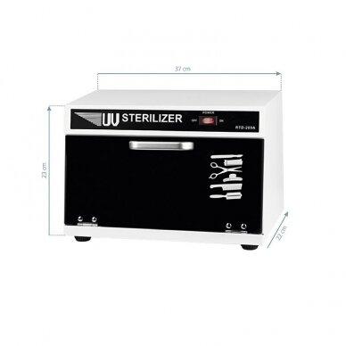 UV sterilizatorius UV-C 1, 8 litrai 4