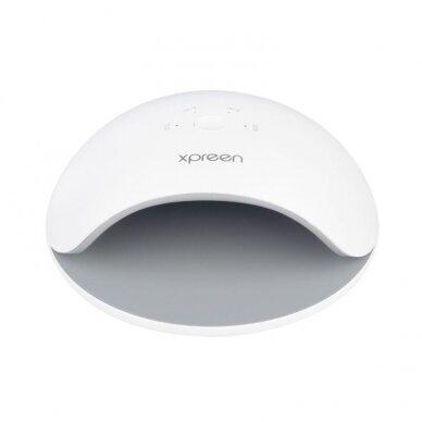 UV/LED manikiūro lempa XPREEN XPRE017, baltos sp., 48W 3
