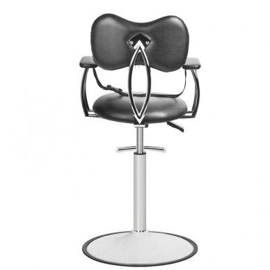 Vaikiška kirpyklos kėdė GABBIANO, juodos sp. 2