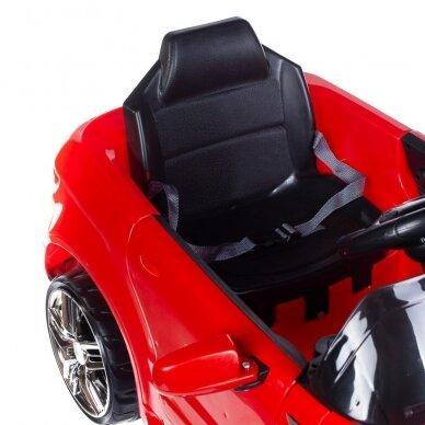 Vaikiška kirpyklos kėdė RANGE ROVER, raudonos sp. 5