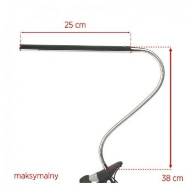 LED lempa SLIM SNAKE, mėlynos sp. 4