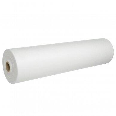 Vienkartinė paklodė (flizelinas) 100cm x 150m, su perforacija kas 40cm
