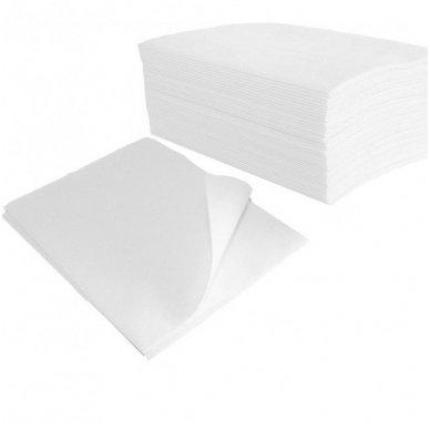 Vienkartiniai popieriniai rankšluosčiai, celiulioze 50x40 cm, 100 vnt.