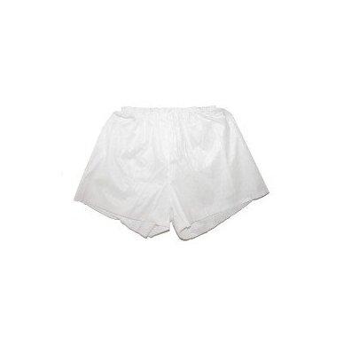Vienkartiniai vyriški šortai XL 25 vnt, baltos sp.