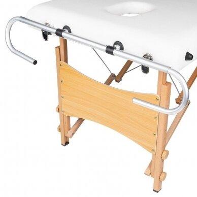 """Vienkartinių paklodžių laikiklis skirtas """"Komfort"""" masažo stalams"""