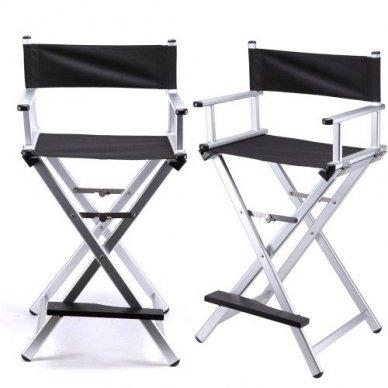 Vizažo kėdė KC-CH01, sidabrinės sp.