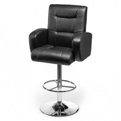 Vizažo kėdė NOR, juodos sp 4
