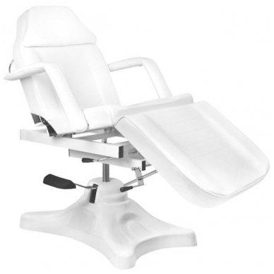 Kosmetologinis krėslas A234D, baltos sp.  4
