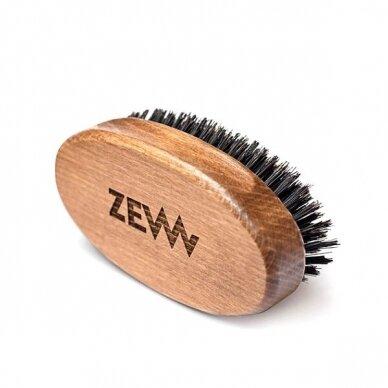 ZEW FOR MEN Simple Lumberjack barzdos priežiūros rinkinys (muilas+muilinė, šepetys, aliejus) 5