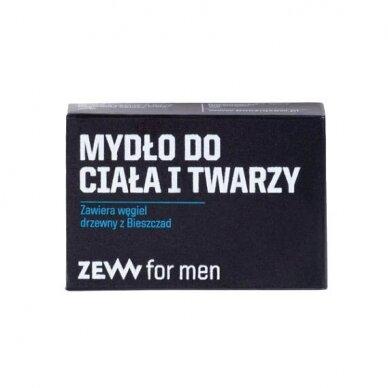 ZEW FOR MEN skutimosi rinkinys vyrams (kremas, balzamas, muilas + muilinė) 5