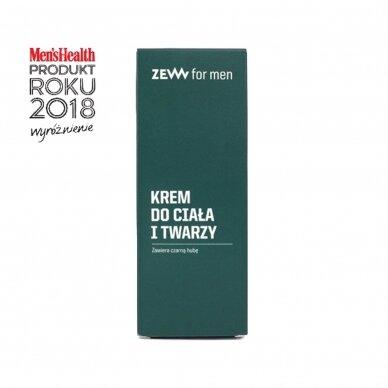 ZEW FOR MEN skutimosi rinkinys vyrams (kremas, balzamas, muilas + muilinė) 6